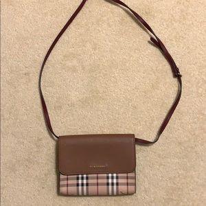 Burberry Leather Cross Body Bag - brand new!